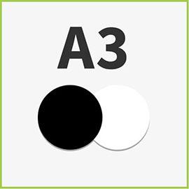 Schwarzweiß A3