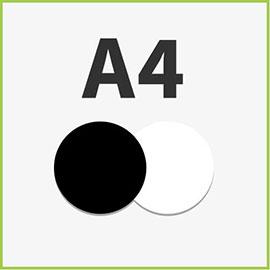 Schwarzweiß A4
